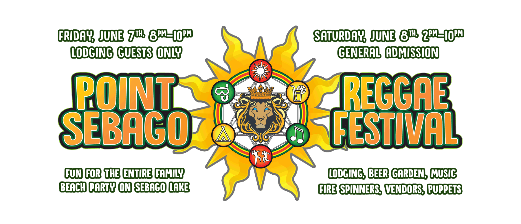Point Sebago Reggae Festival